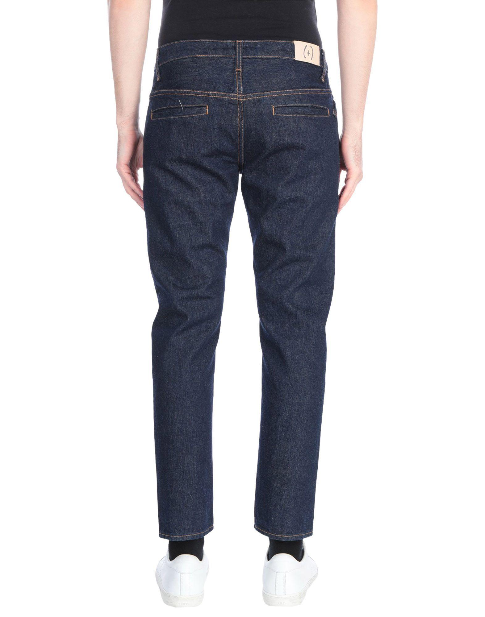 (+) People Blue Cotton Jeans