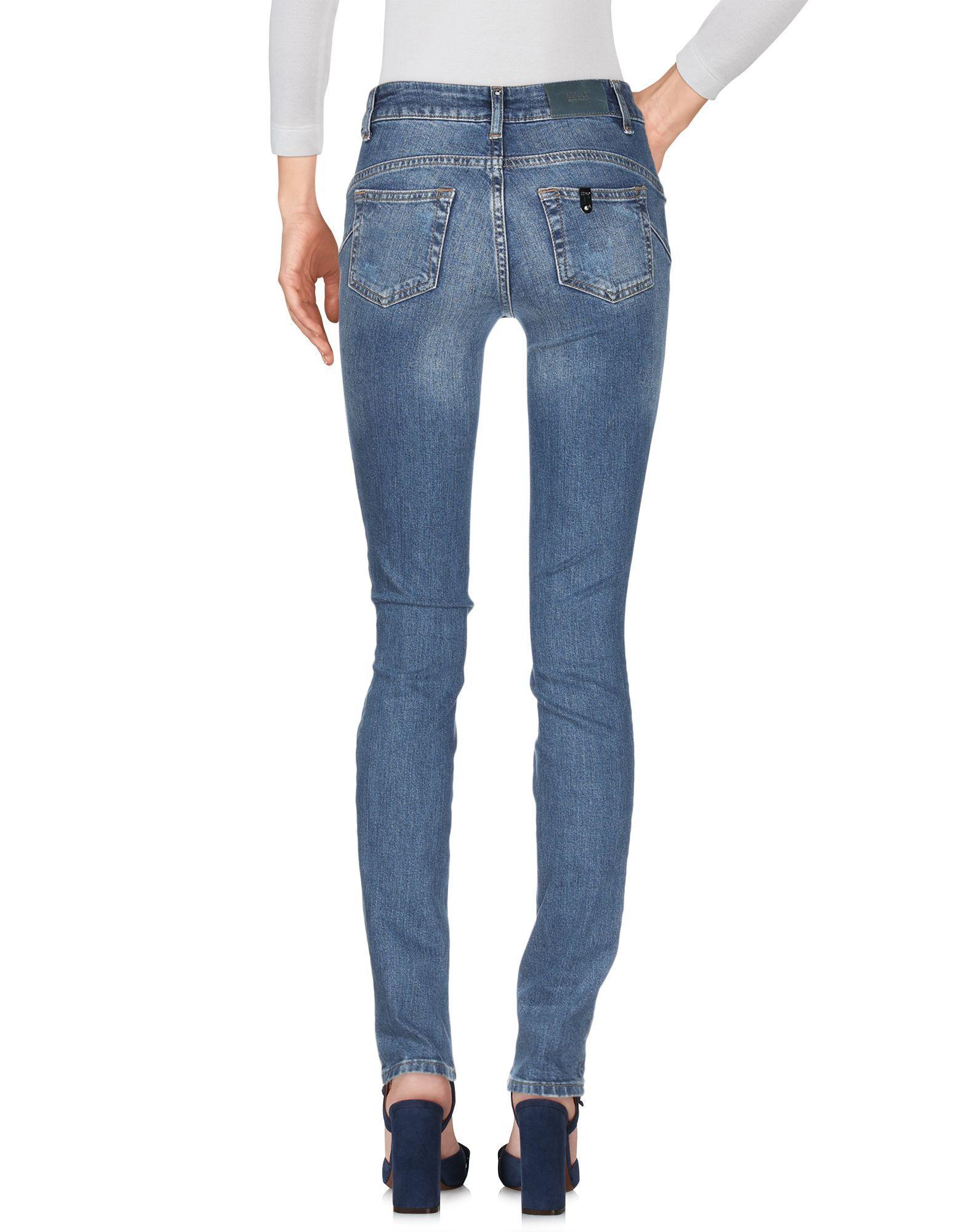 Liu Jo Blue Cotton Jeans