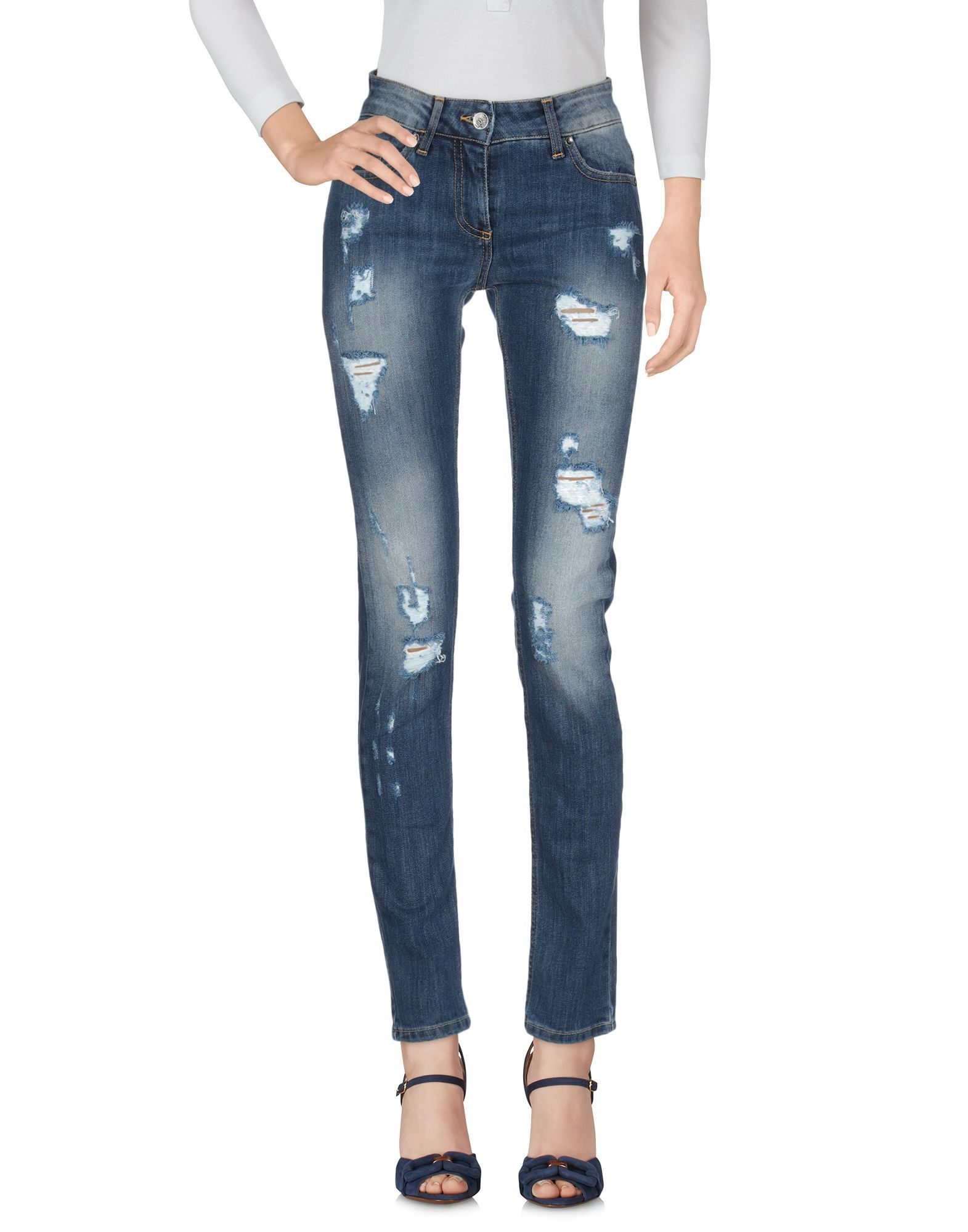 Liu Jo Blue Cotton Jeans