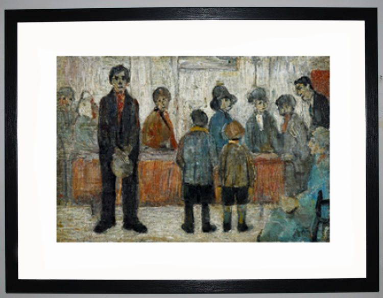 A Doctors Waiting Room 1920 By Ls Lowry