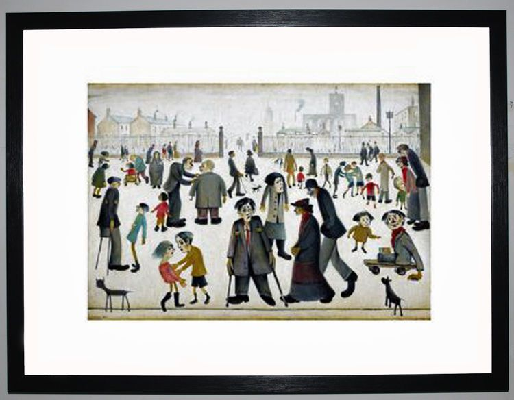 The Cripples, 1949 by L.S. Lowry