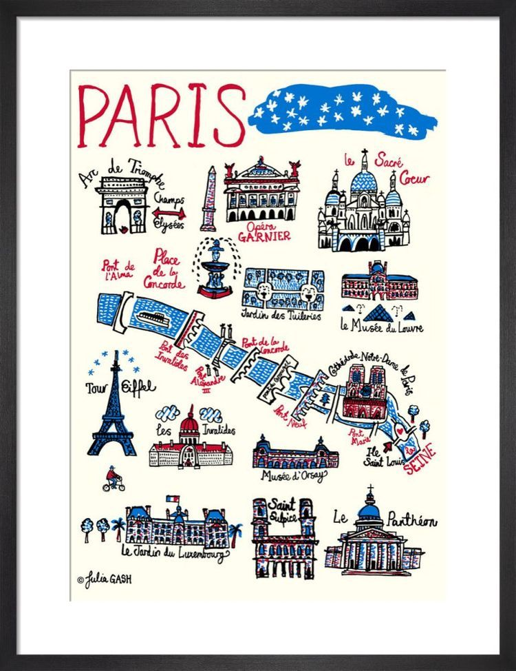 Paris Cityscape by Julia Gash
