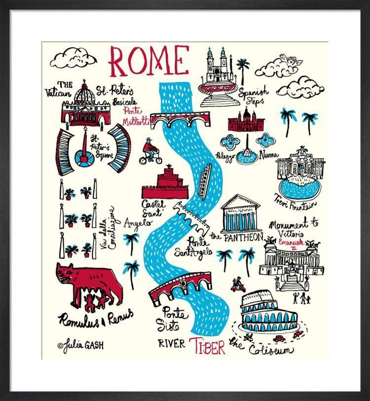 Rome Cityscape by Julia Gash