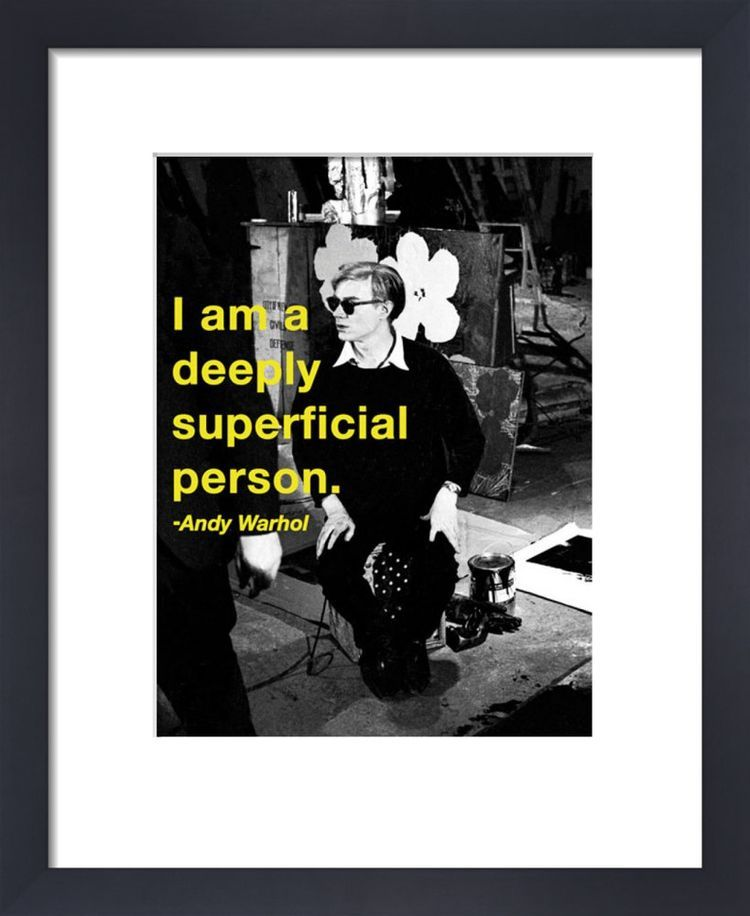 Superficial by Andy Warhol