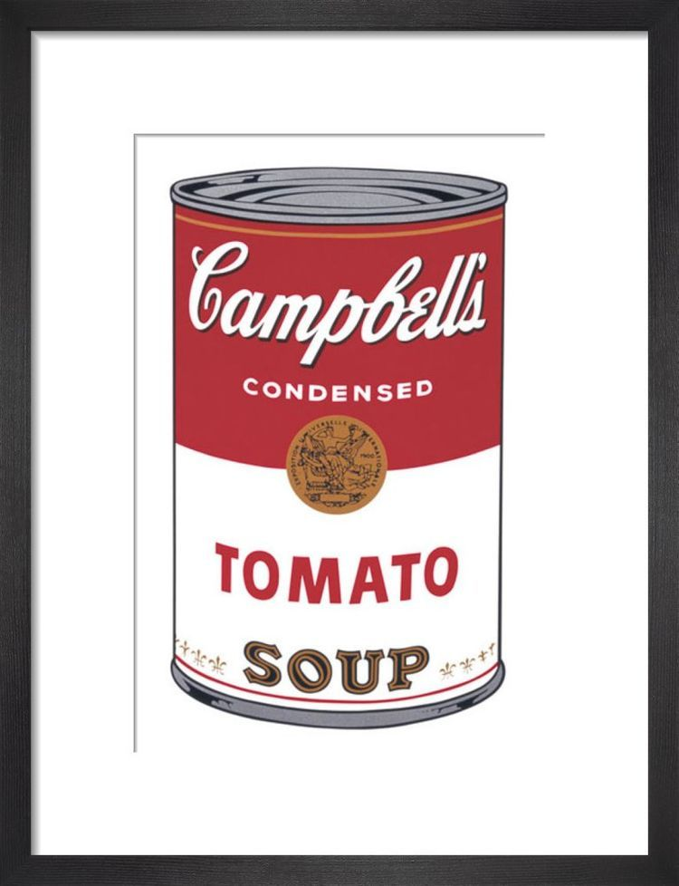Campbells Soup I Tomato 1968 By Andy Warhol