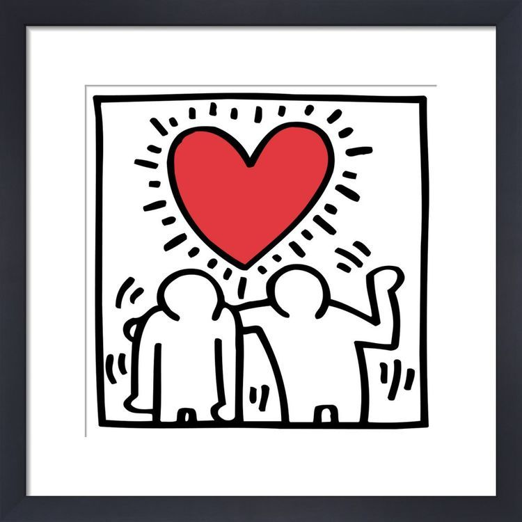 Untitled (be mine), 1987 by Keith Haring