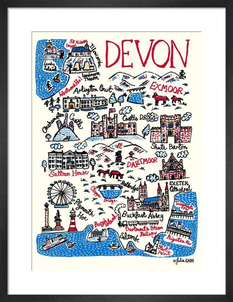 Devon Cityscape by Julia Gash