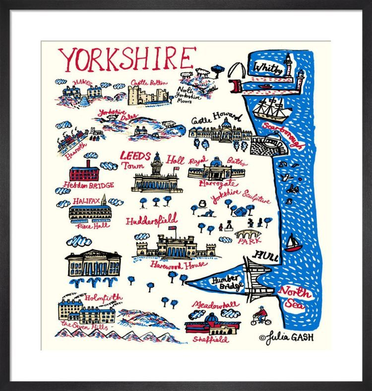 Yorkshire Cityscape by Julia Gash