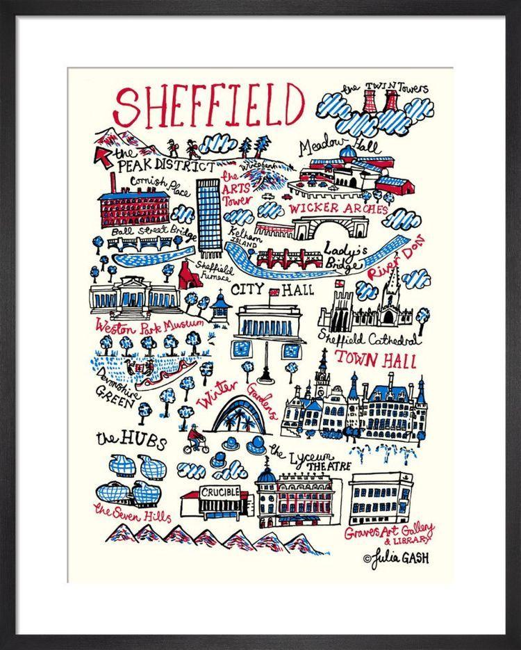 Sheffield Cityscape by Julia Gash