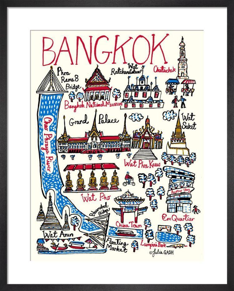 Bangkok Cityscape by Julia Gash