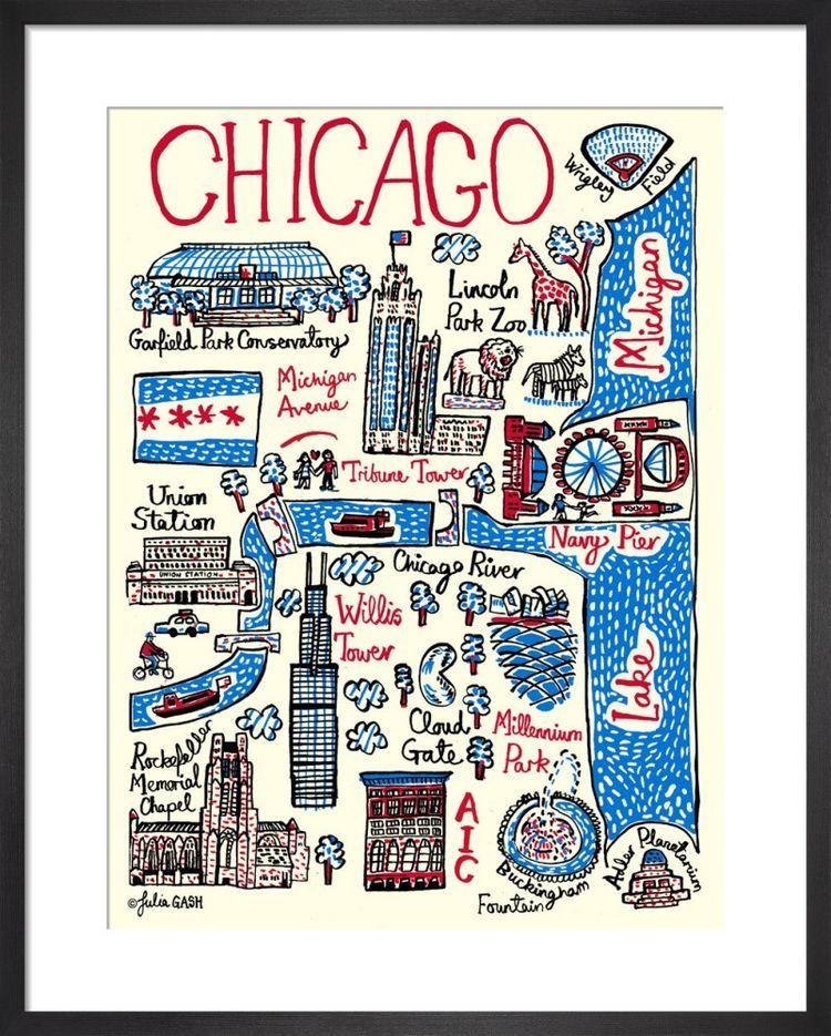 Chicago Cityscape by Julia Gash