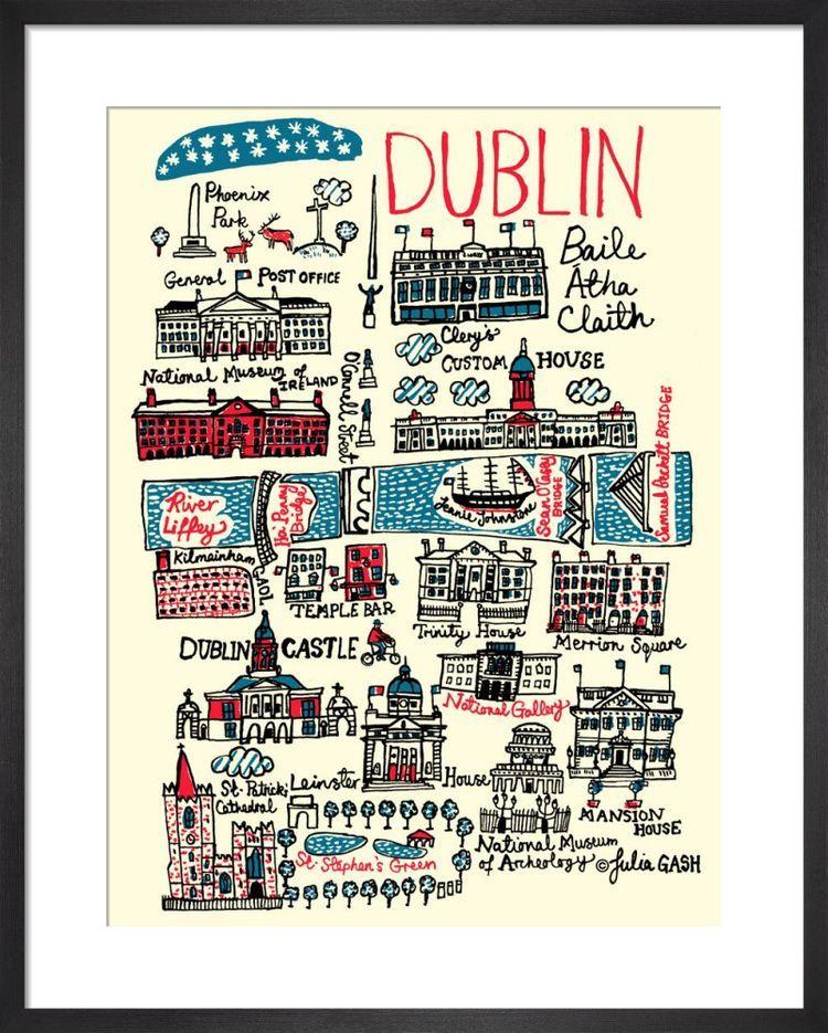Dublin Cityscape by Julia Gash