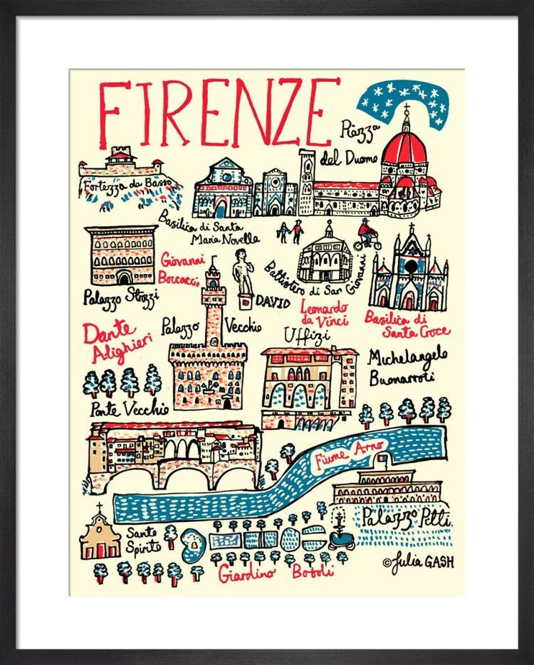 Firenze Cityscape by Julia Gash