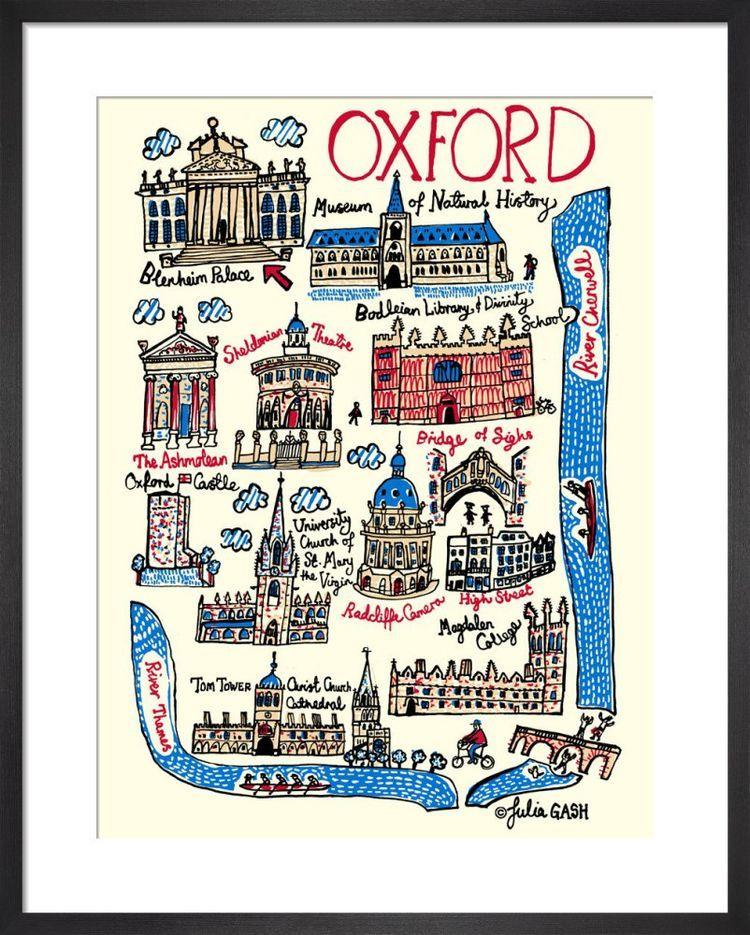 Oxford Cityscape by Julia Gash