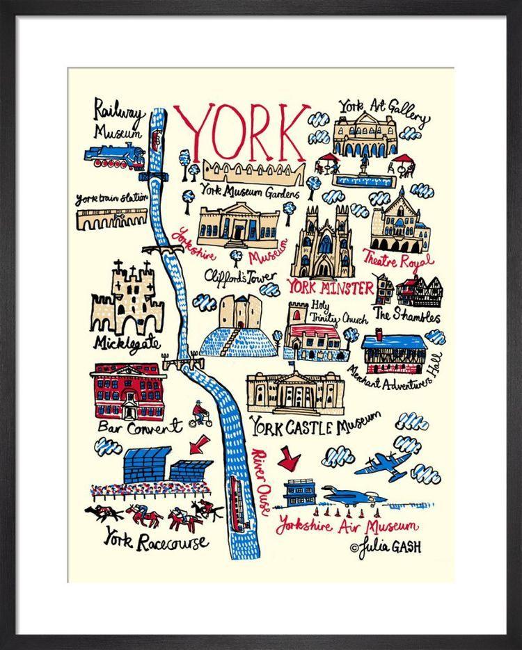 York Cityscape by Julia Gash