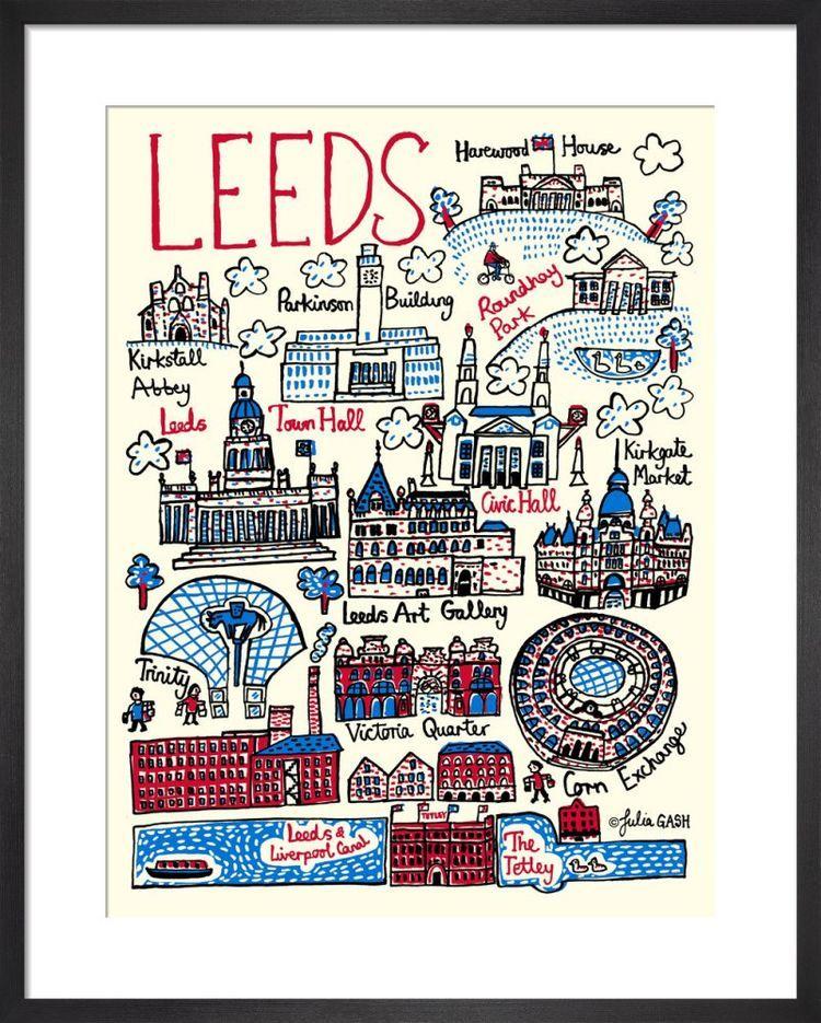 Leeds Cityscape by Julia Gash