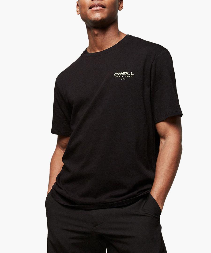 Black pure organic cotton T-shirt