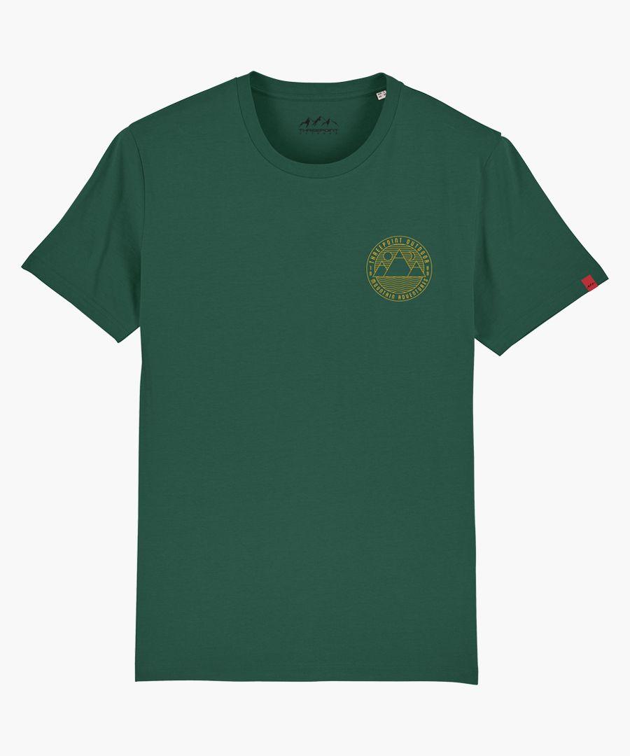 Mount Adventures green T-shirt