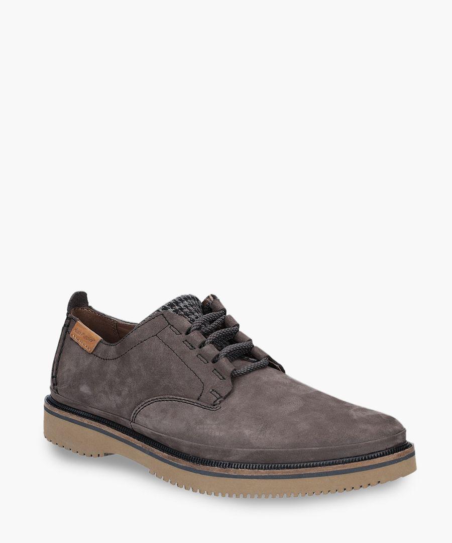 Mens off black Oxford shoes