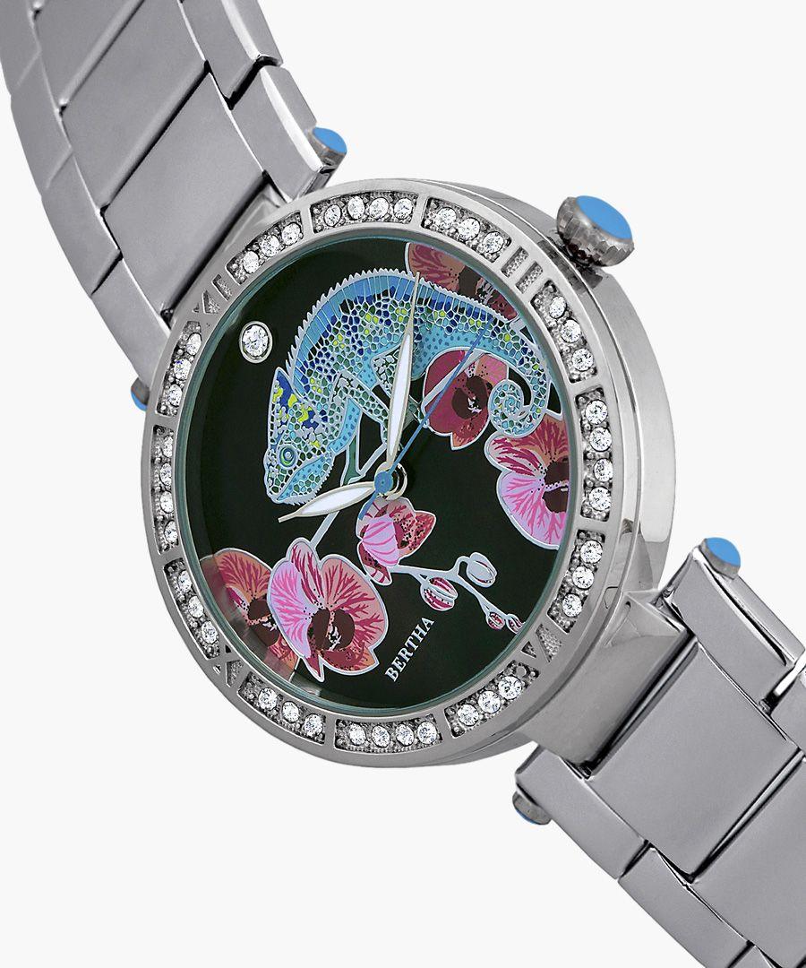 Camilla silver-tone watch