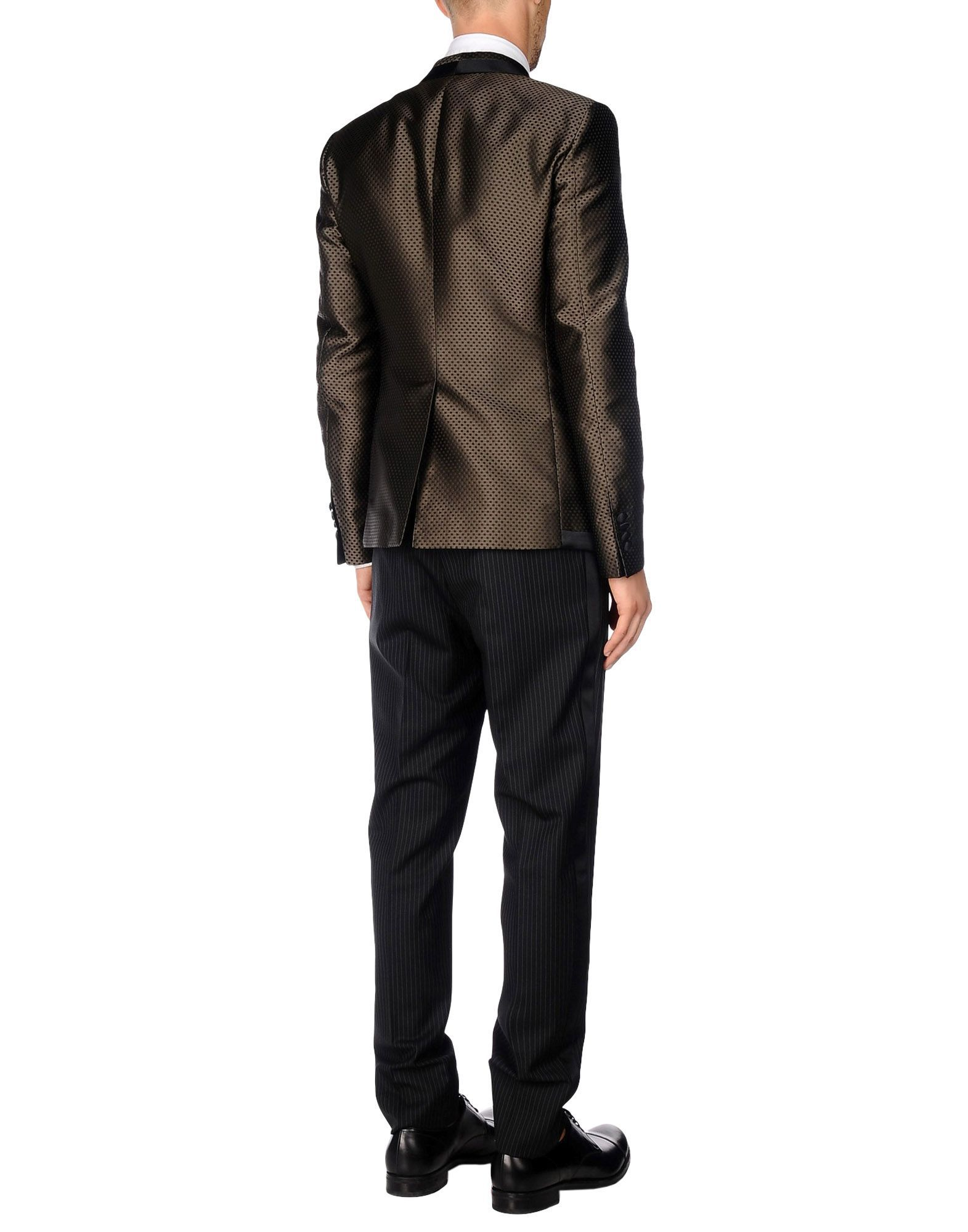 Dolce & Gabbana Khaki Virgin Wool Suit