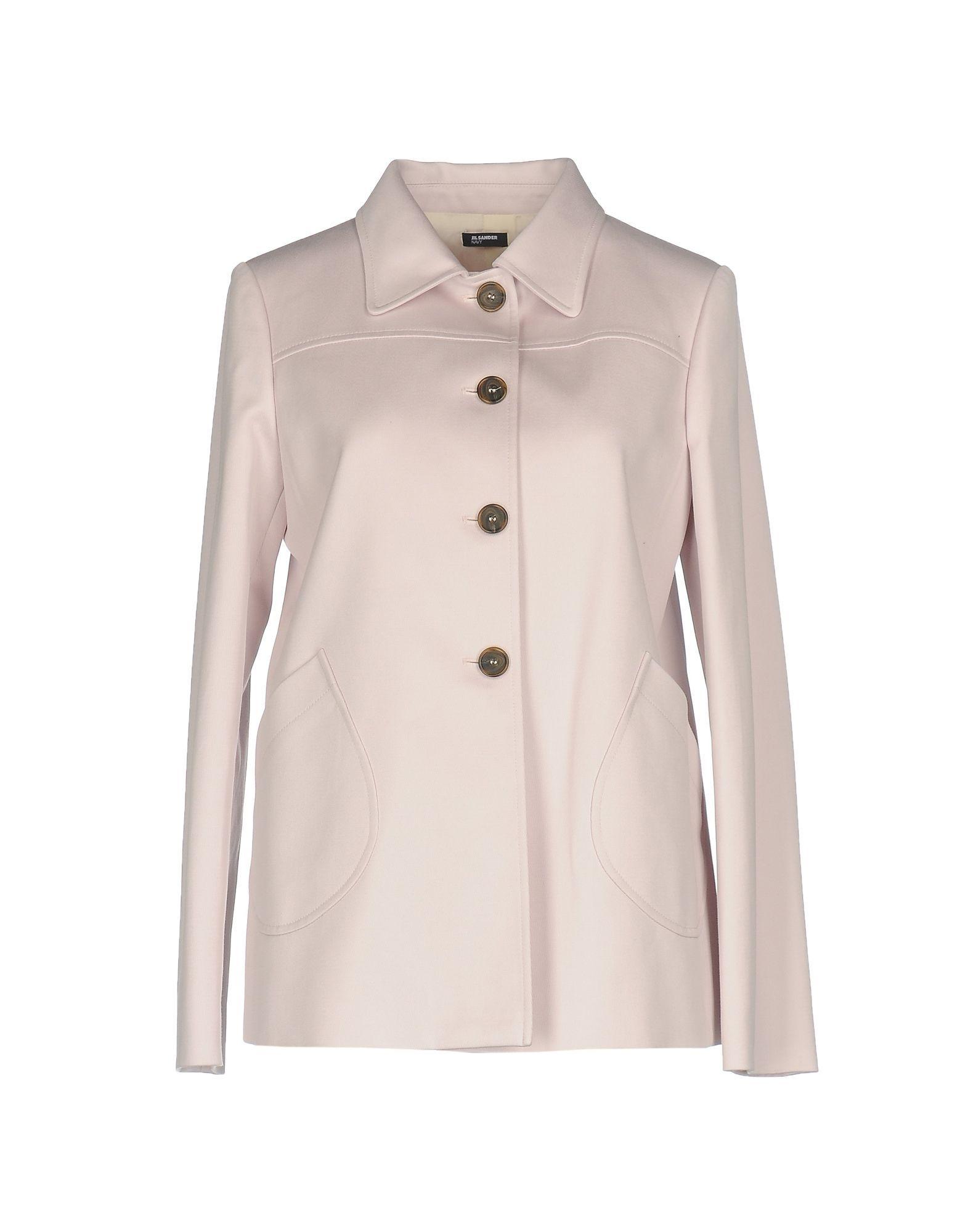 Jil Sander Navy Pink Cotton Classic Jacket