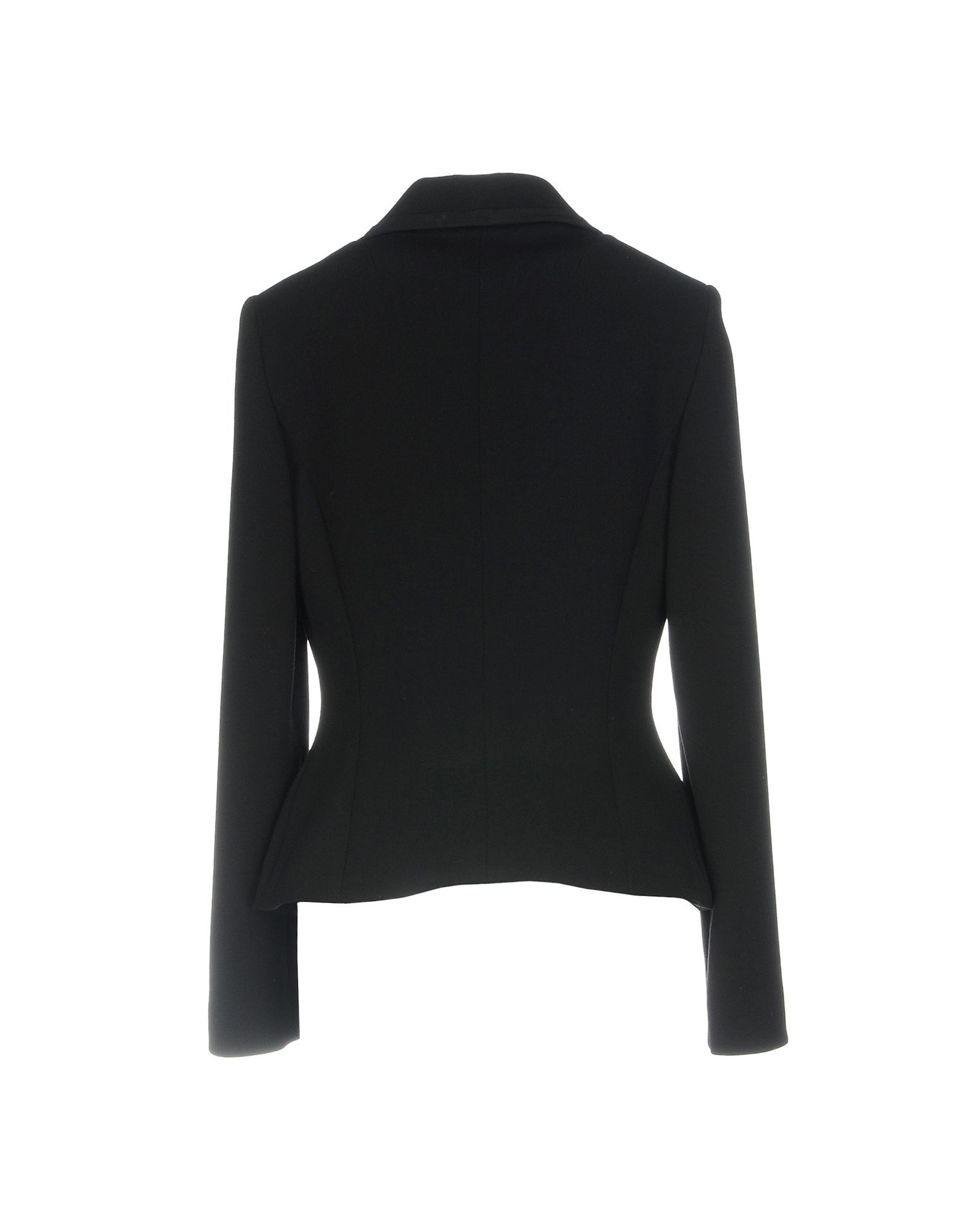 Dolce & Gabbana Black Wool Single Breasted Jacket