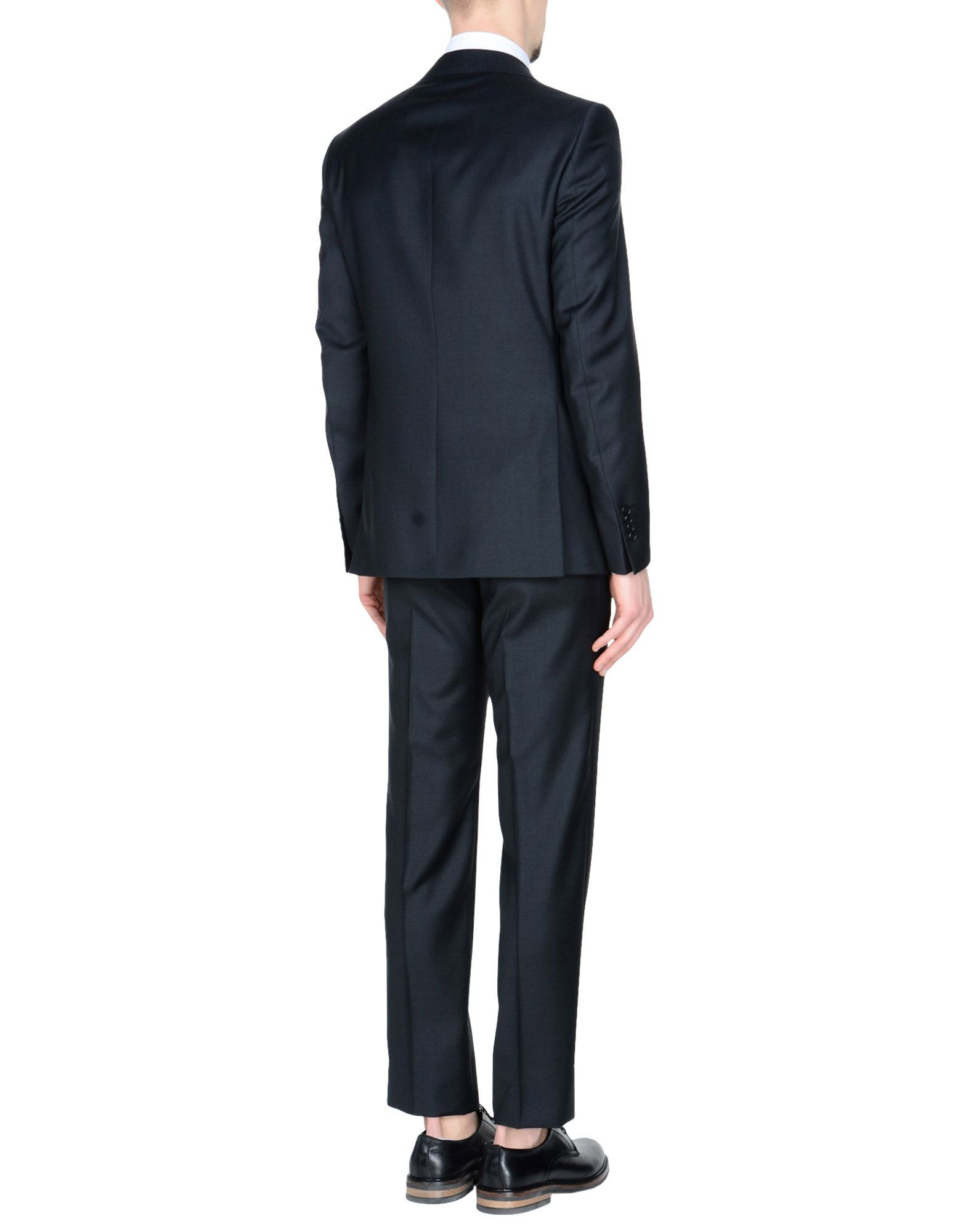 Tombolini Steel Grey Virgin Wool Single Breasted Suit
