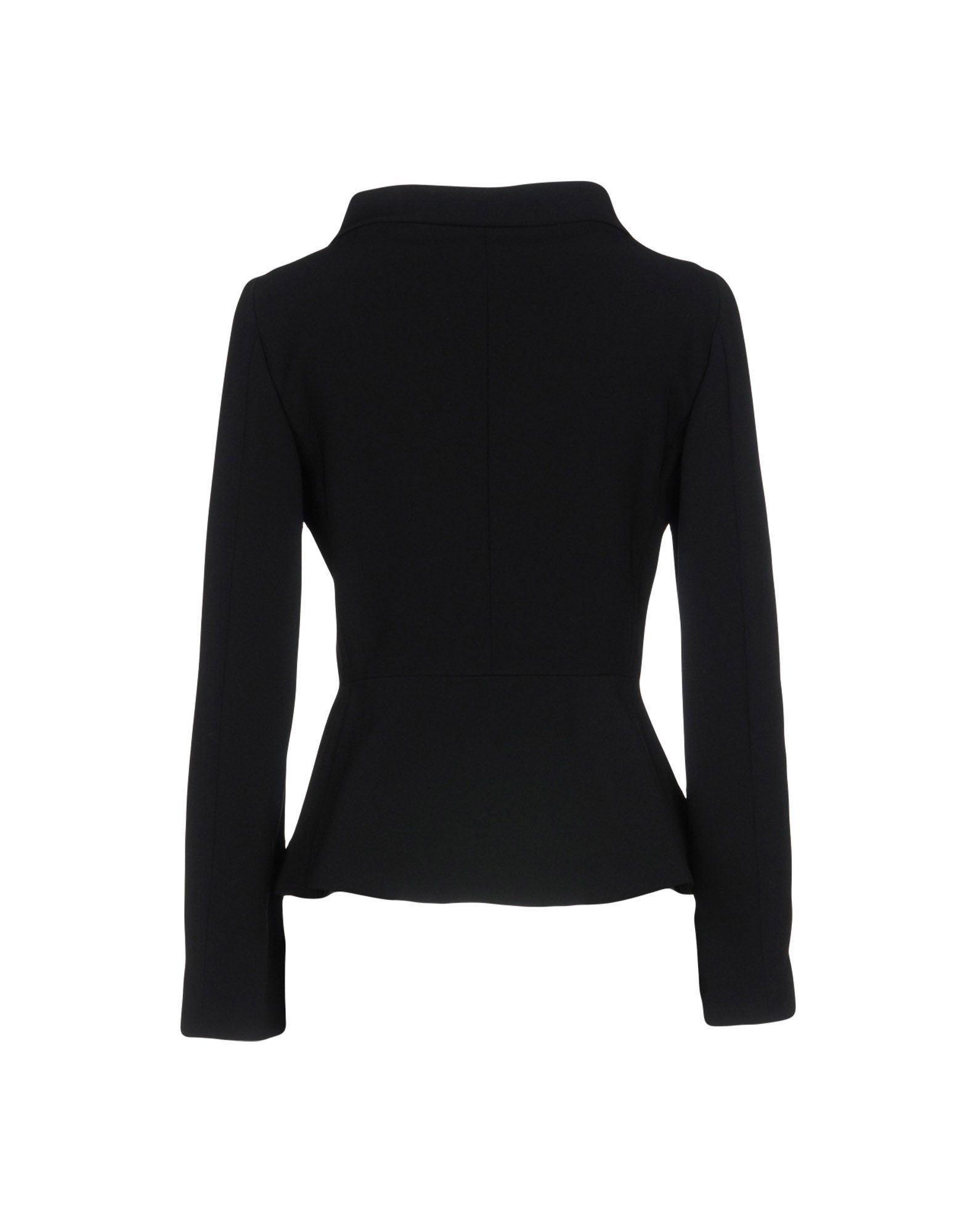 Boutique Moschino Black Crepe Jacket