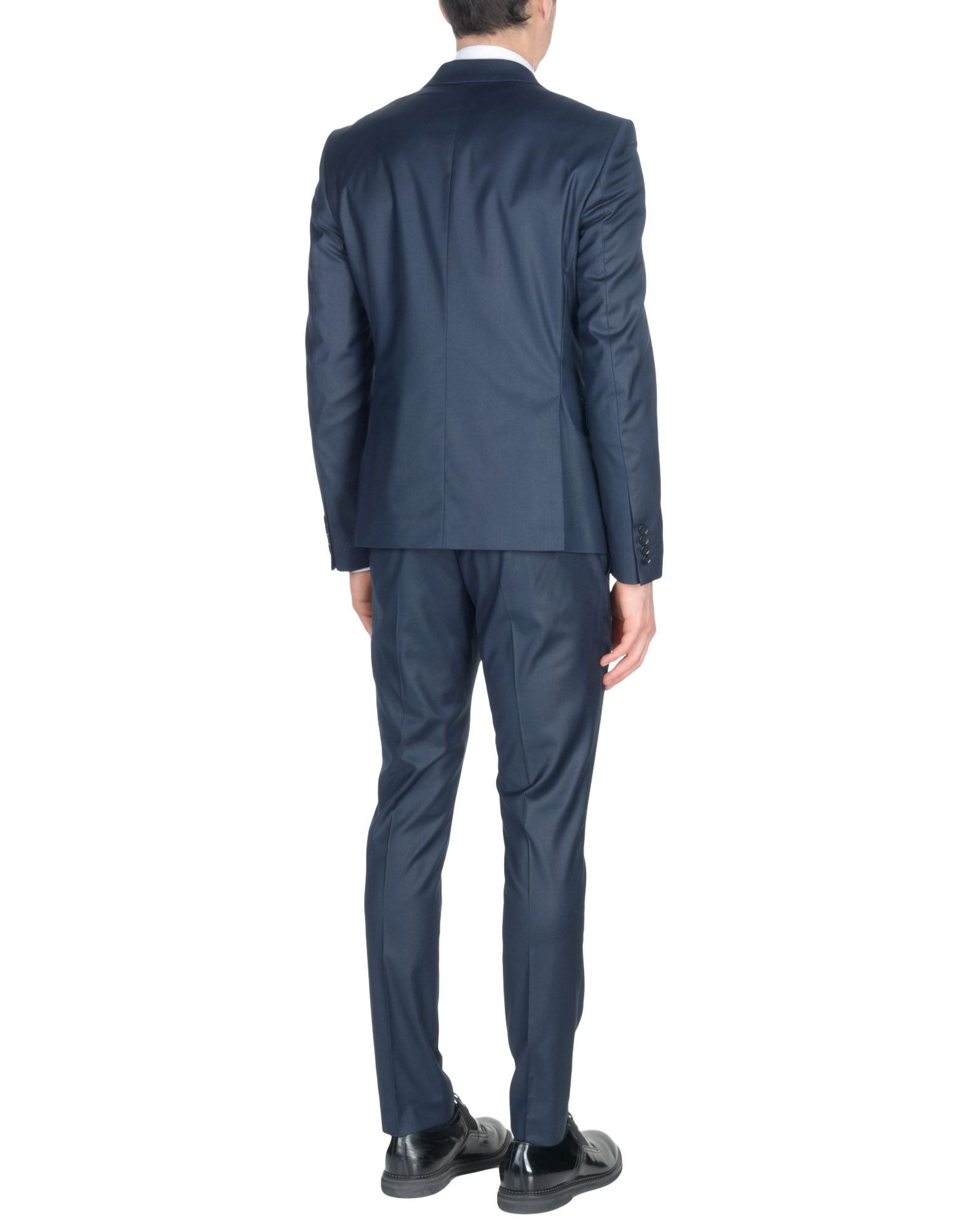 Selected Homme Dark Blue Single Breasted Suit
