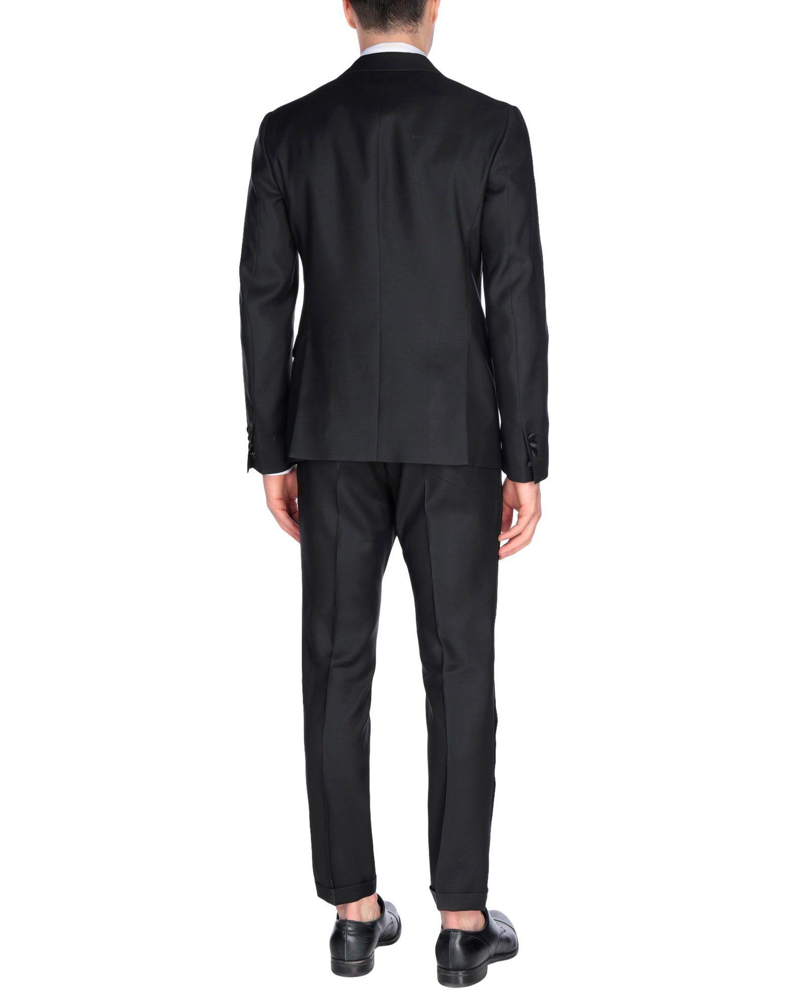 Dsquared2 Black Virgin Wool Jacket