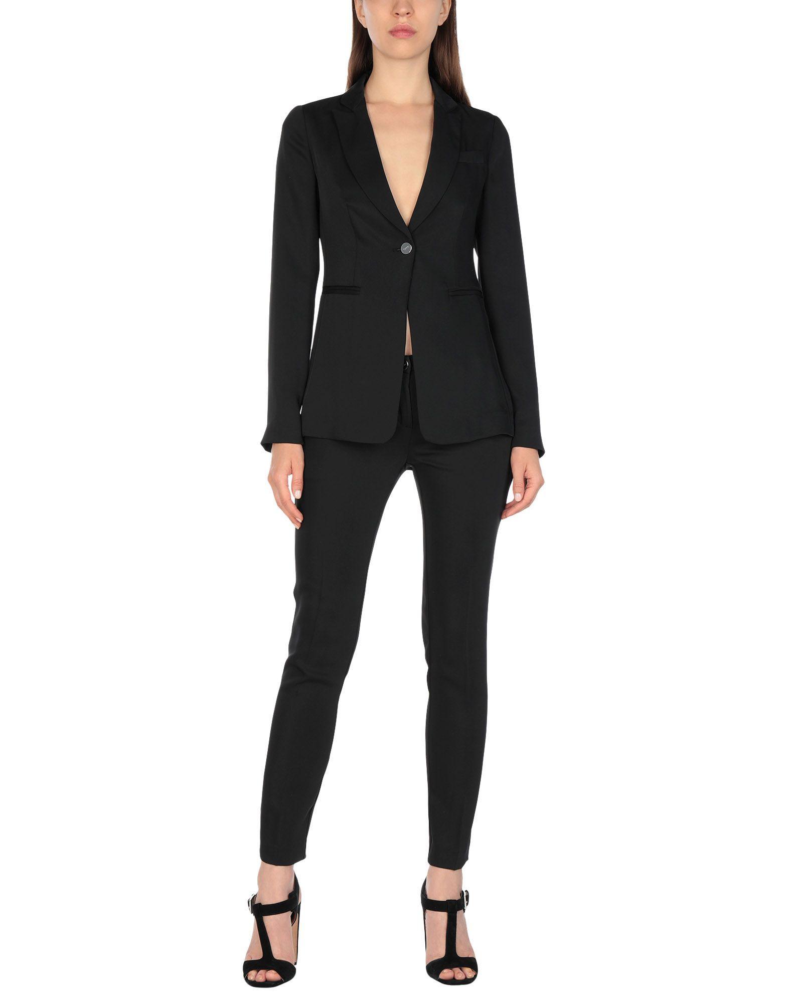 Liu Jo Black Single Breasted Suit