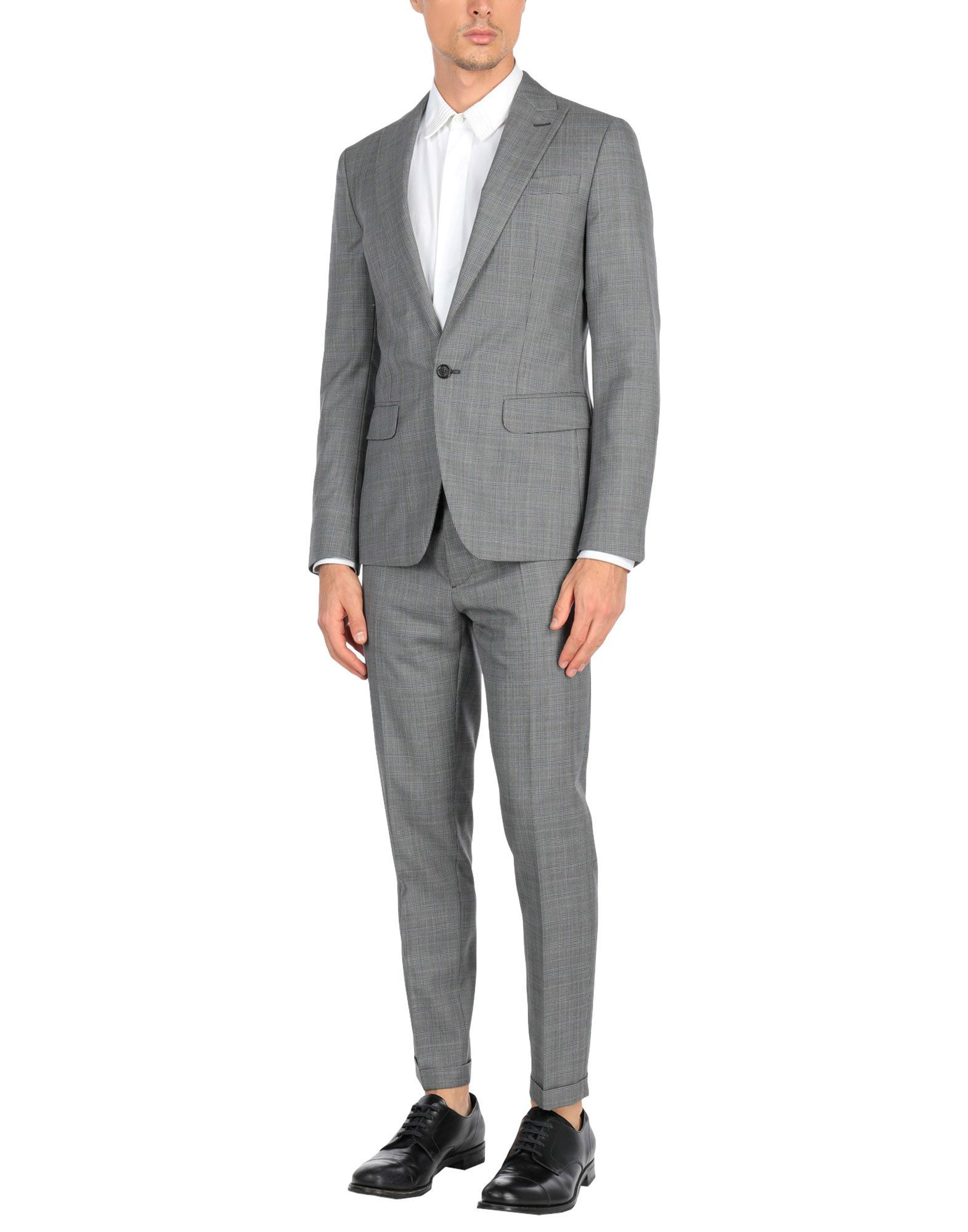 Dsquared2 Grey Virgin Wool Suit