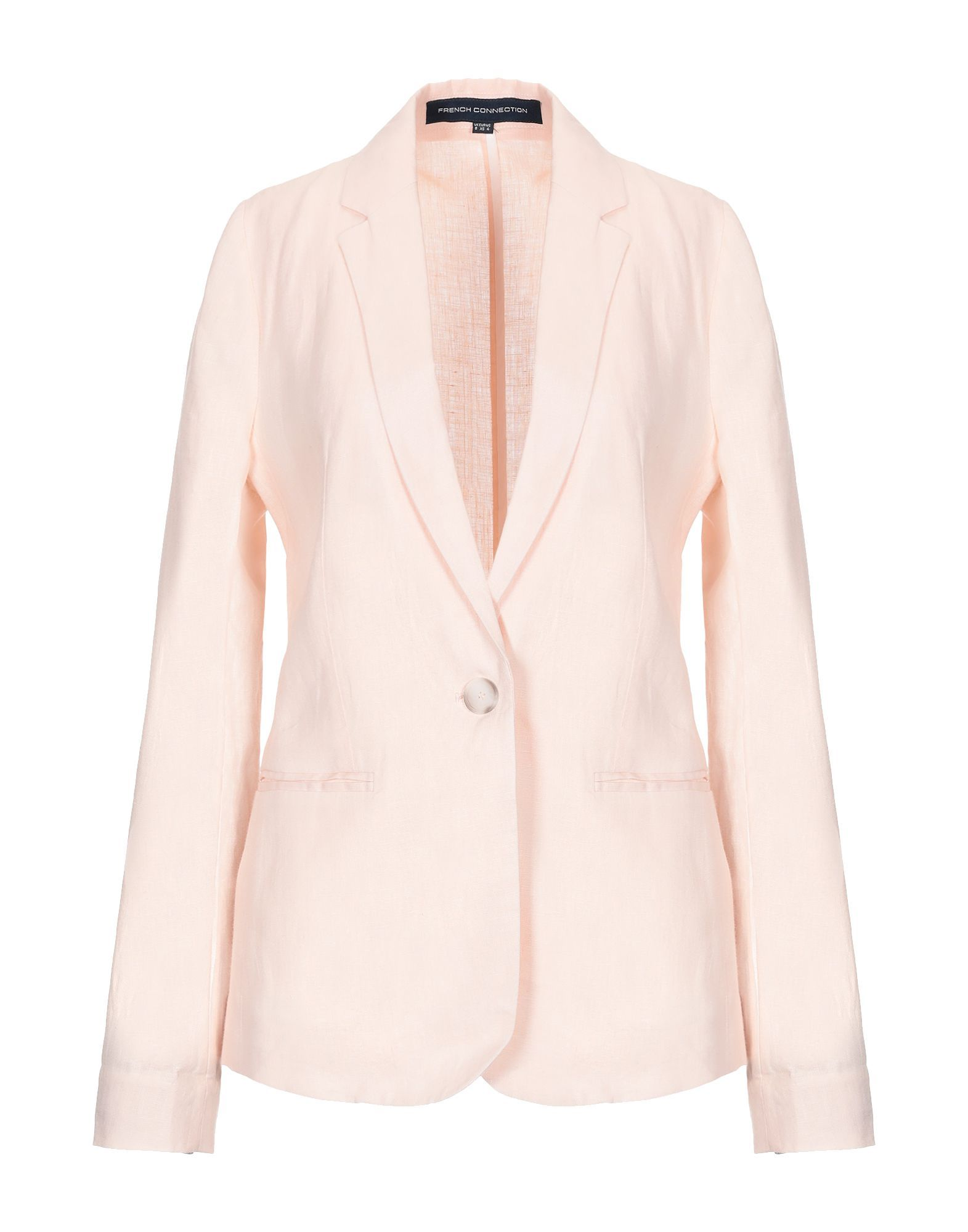 French Connection Light Pink Single Breasted Blazer