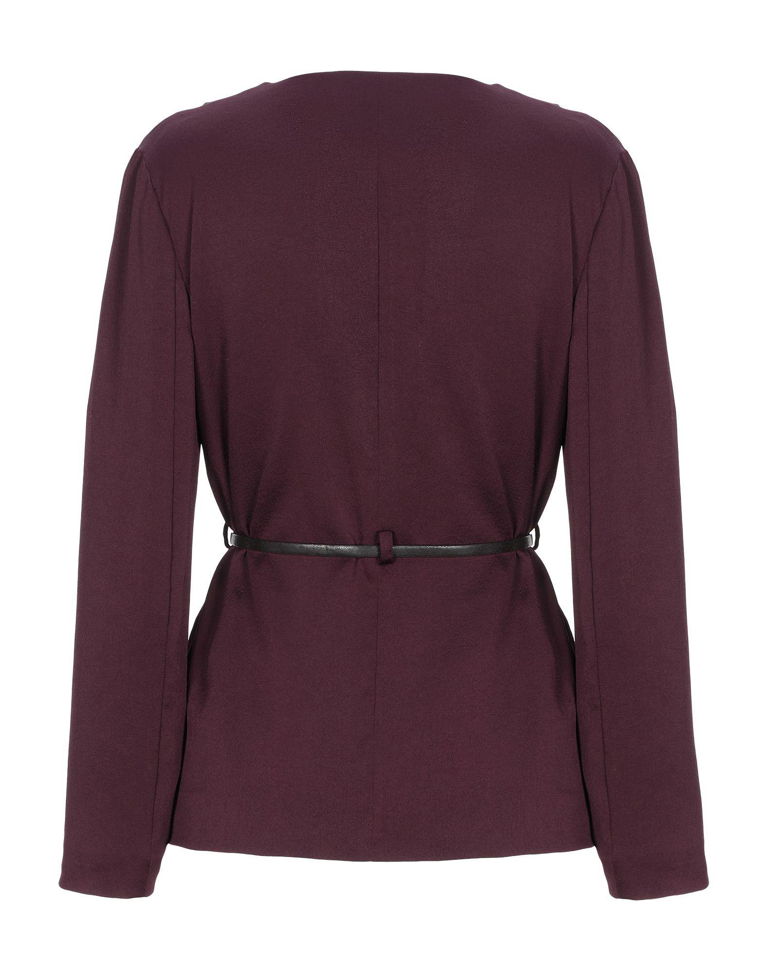 Pinko Deep Purple Belted Jacket