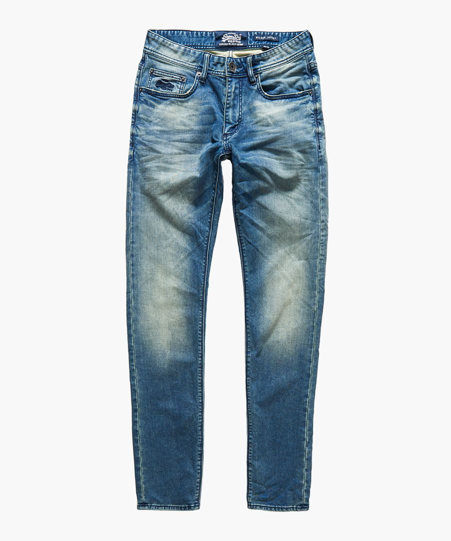Boxer Blue Used Wilson Jogger Jean