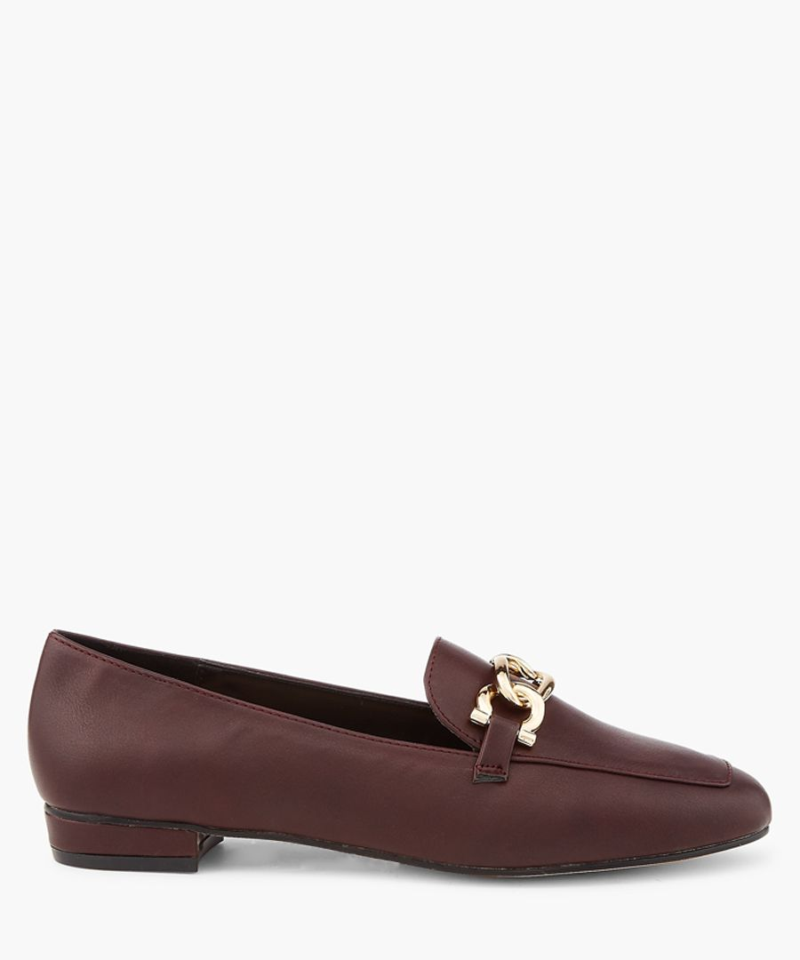 Chain loafers