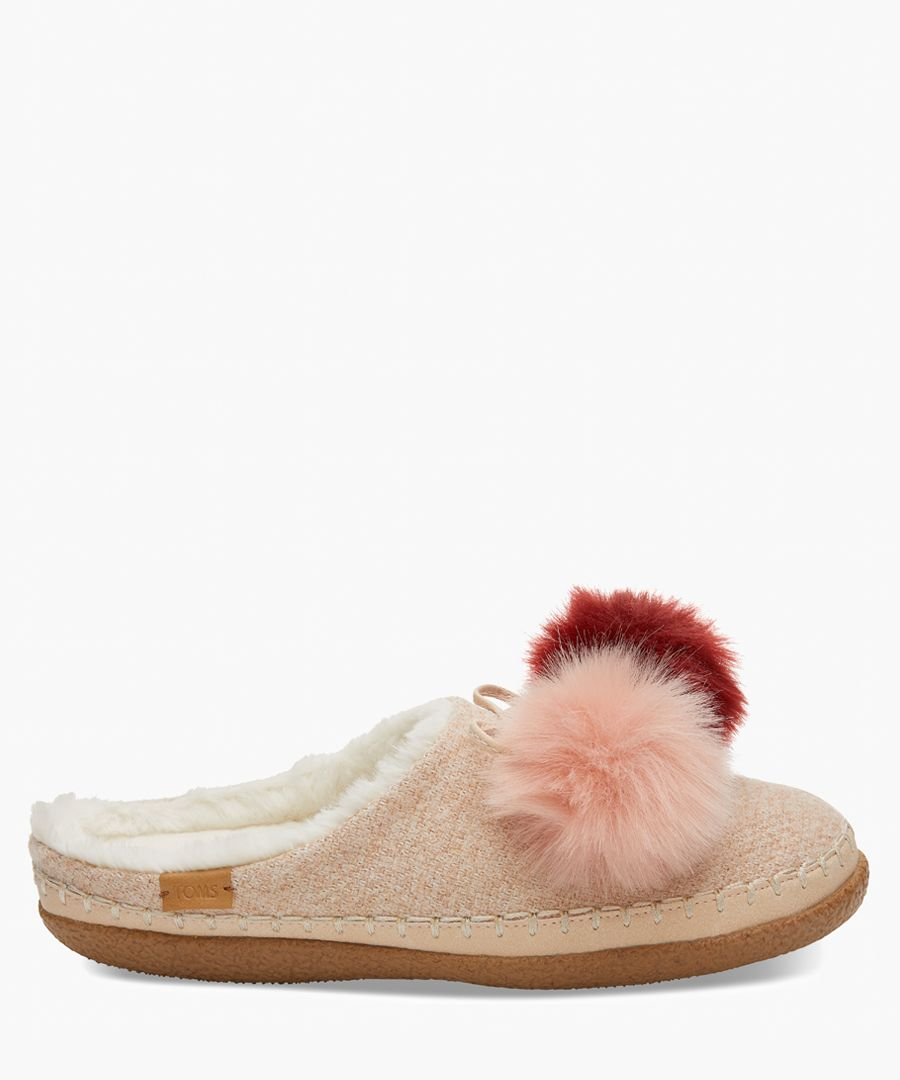 Ivy pink slippers