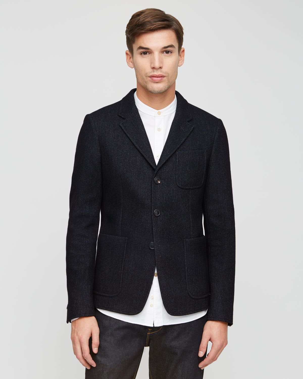 Double Face Bonded Fabric Blazer