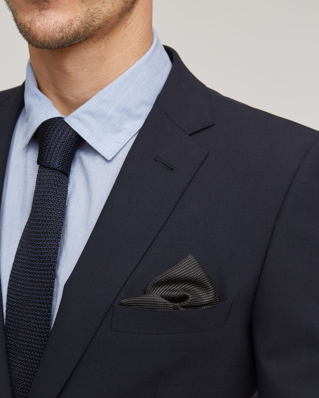 Stretch Wool 2 Button Jacket