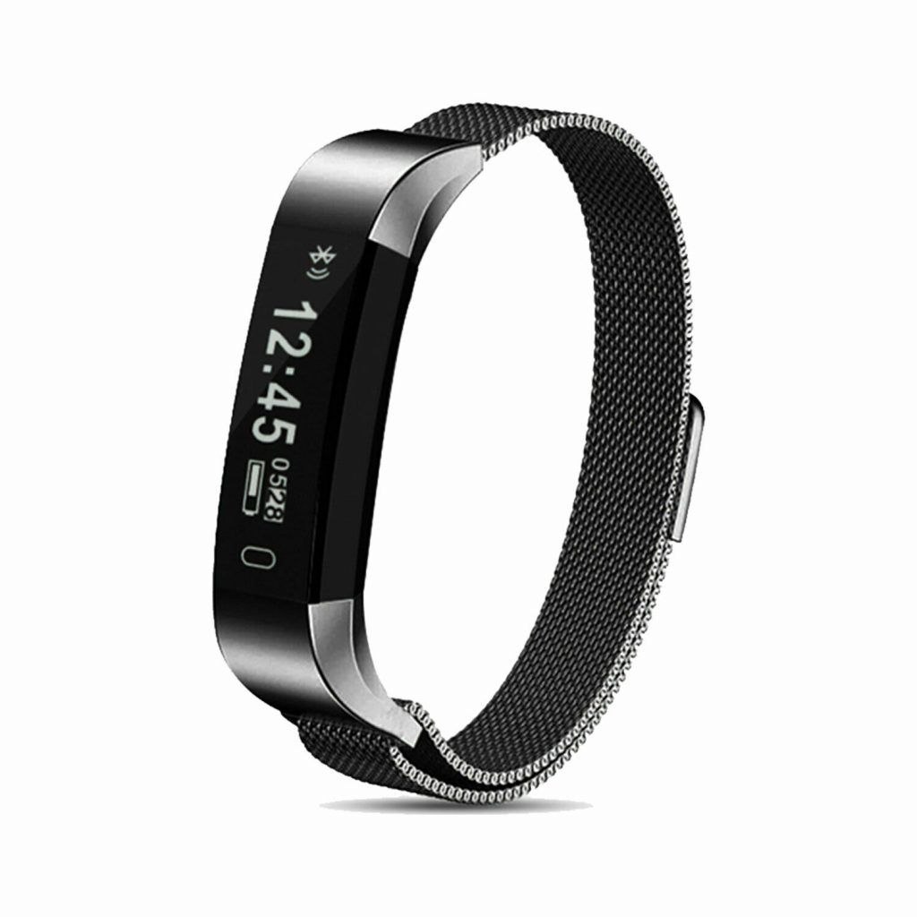 Aquarius AQ115 Fitness Tracker with Milanese Strap Space Grey