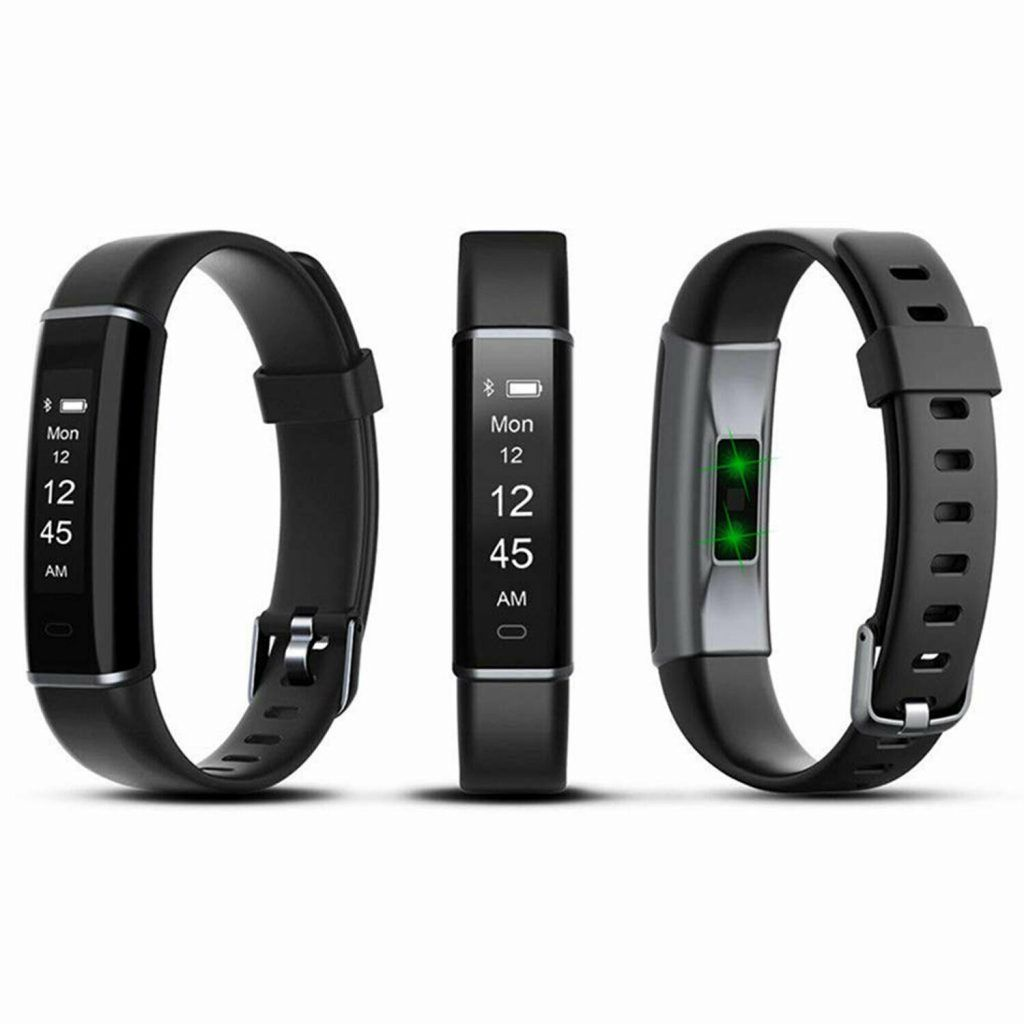 Aquarius AQ113 Fitness Tracker With Heart Rate Monitor Black