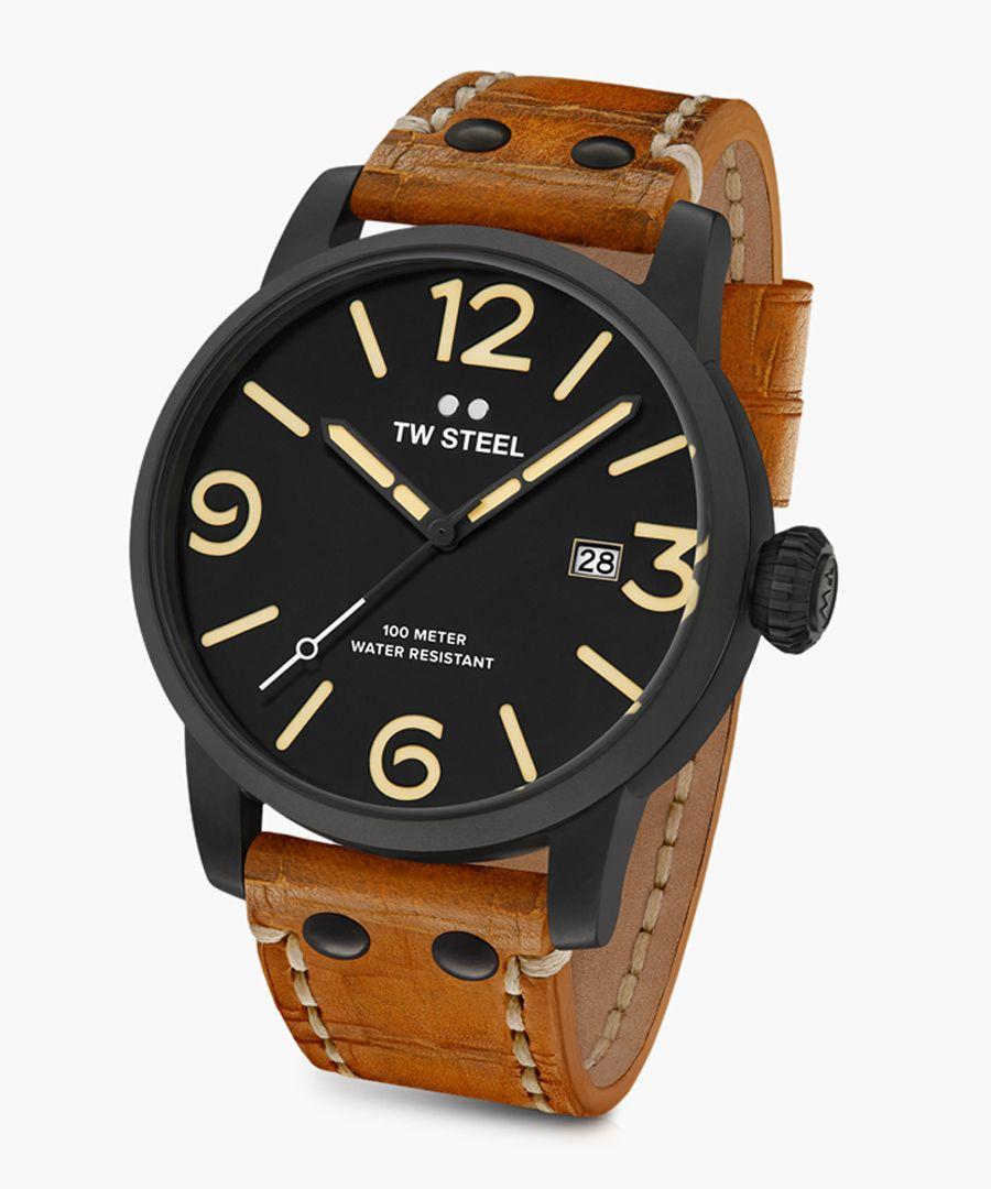 Maverick brown watch