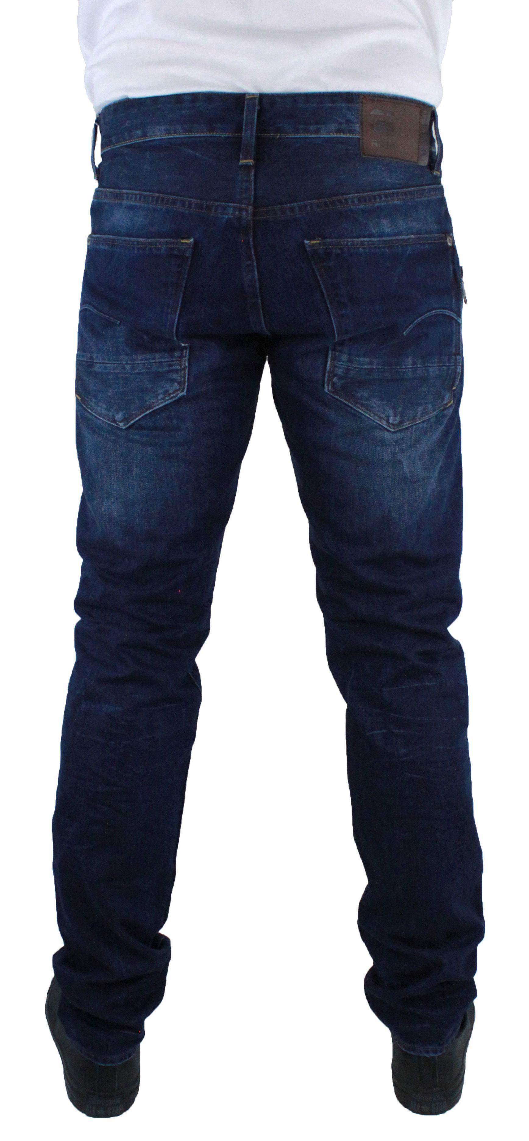 G-Star Stean Tapered DK Aged Wisk Denim Jeans