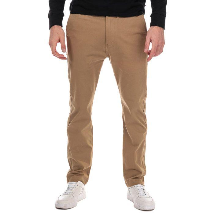 Men's Levis 502 True Chino Pants in Beige