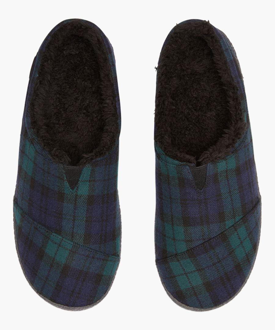 Berkeley green slippers