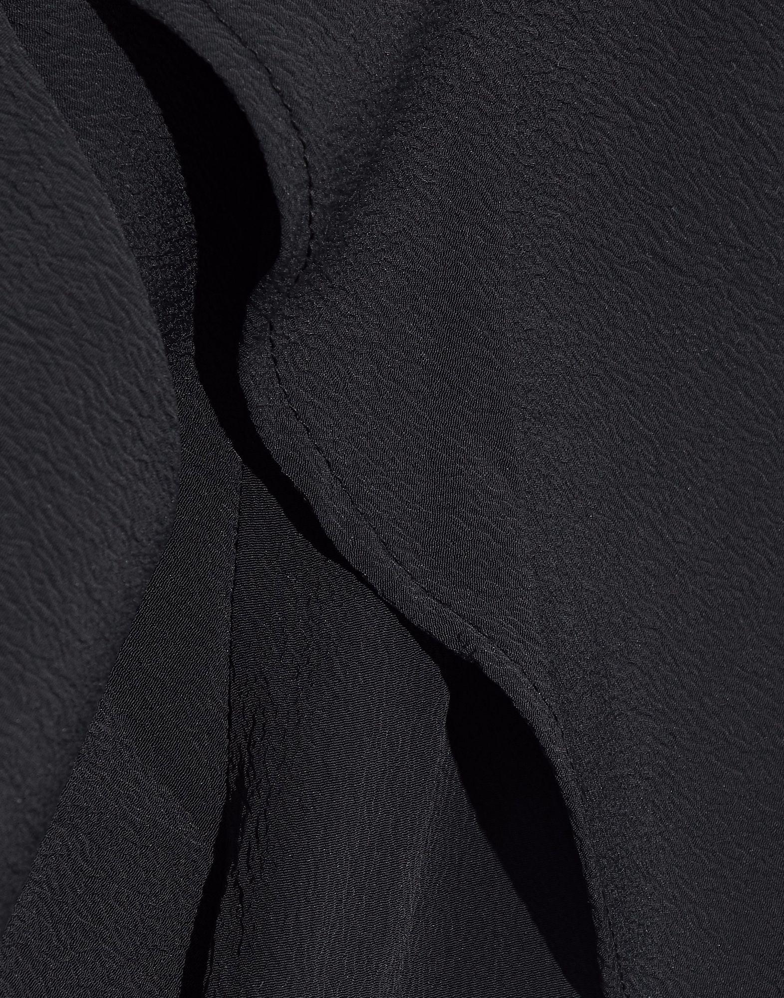 Walter Baker Black Crepe One Shoulder Jumpsuit