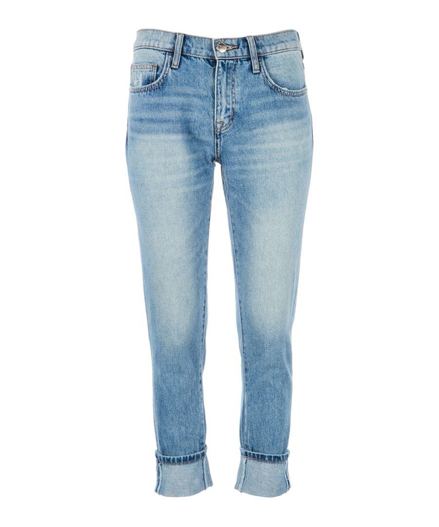 The Fling blue skinny boyfriend jeans
