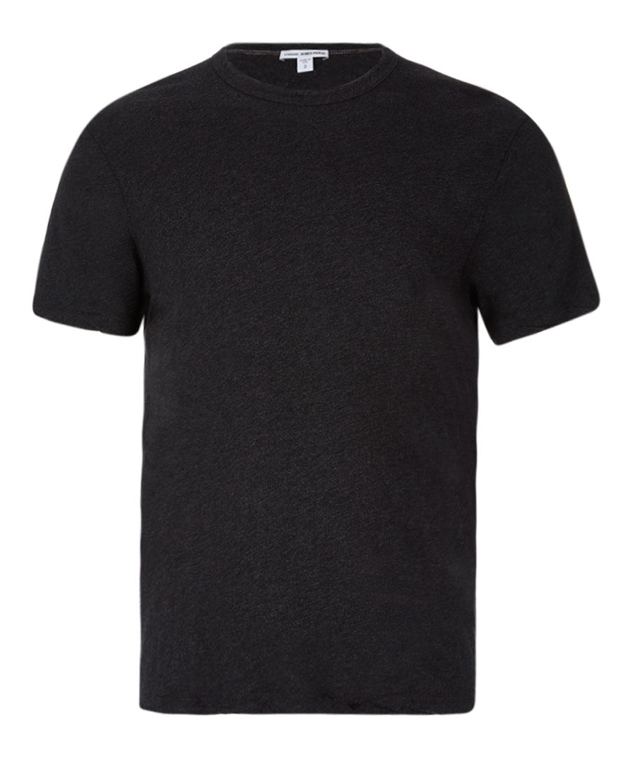 Anthracite pure cotton T-shirt