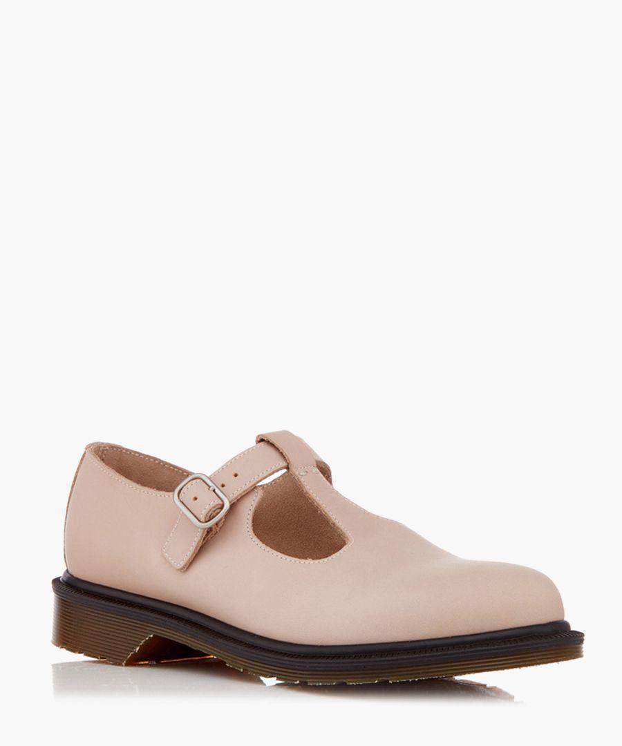 Felissa pink leather Mary Janes